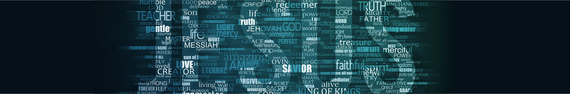 jesus text design